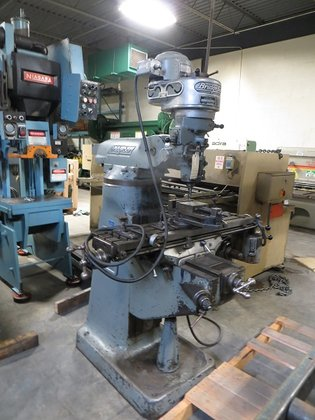 Bridgeport Milling Machine #2777 in