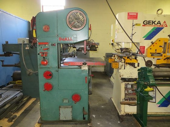 Doall 16-2 Vertical Band Saw