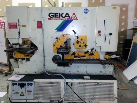 Geka Hydraulic Ironworker #2798 in