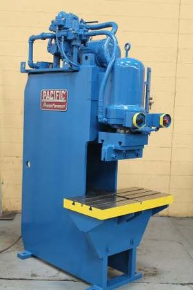 PACIFIC Hydraulic C-Frame 50 Ton