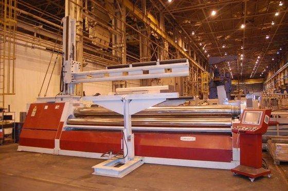 2012 AKYAPAK CNC 4-Roll Hydraulic