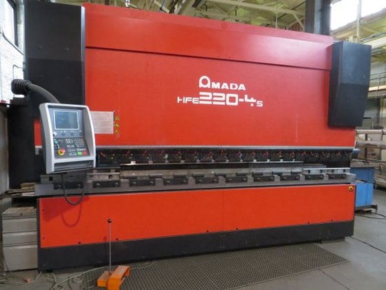 2006 Amada HSE-220-4S 7-Axis CNC