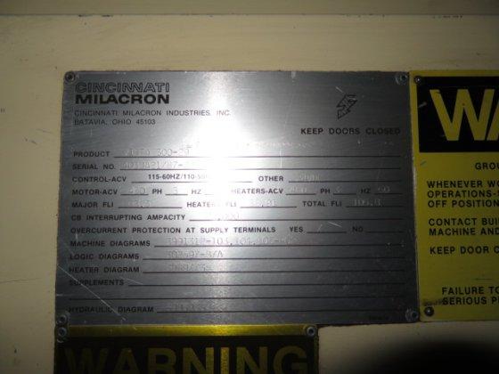 Cool 1987 Cincinnati Milacron Vista 300 29 In Gibsonville Nc Usa Wiring Digital Resources Attrlexorcompassionincorg