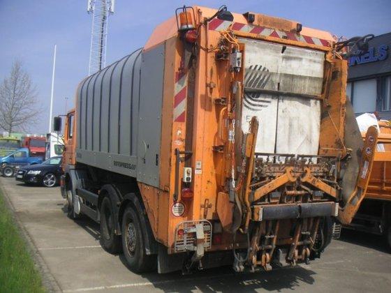 Kerkrade Niederlande 2000 28 314 vuilniswagen in kerkrade niederlande