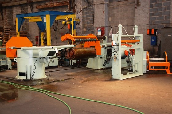 "48"" Stamco Slitting Line in"