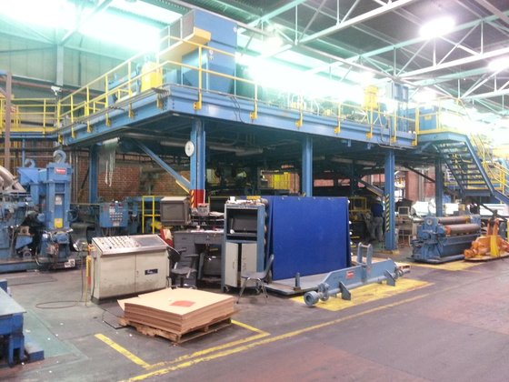 "64.5"" Stamco Tension Leveling Line"