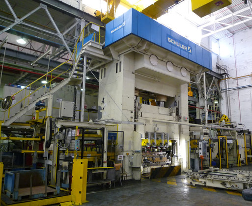 1200ton Schuler Blanking Press in
