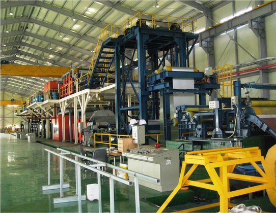 1700mm Coil Coating Line in