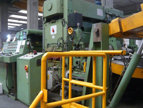 2100mm Flying Shear Cut-to-Length Line