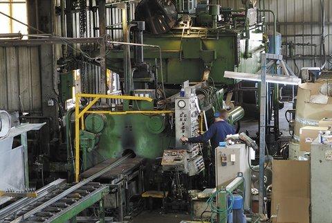 1800ton Sutton Aluminum Extrusion Line
