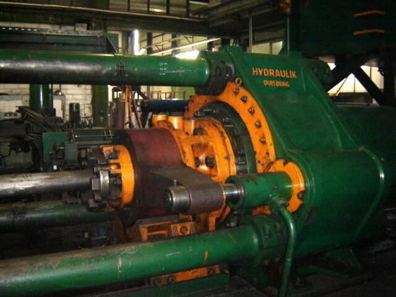 2500mton Hydraulik Duisburg Aluminum Extrusion