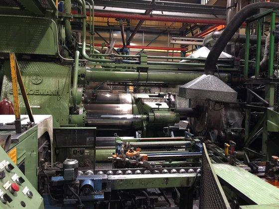 2500 mton SMS Aluminum Extrusion