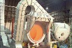 Major Aluminum Tilting Rotary Melter
