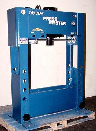 """100 Ton 12"""" Stroke Pressmaster"""