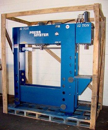 """50 Ton 12"""" Stroke Pressmaster"""