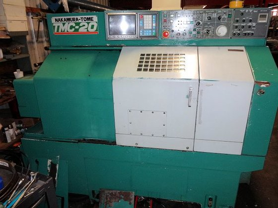 1988 Nakamura-Tome TMC-20 CNC LATHE,