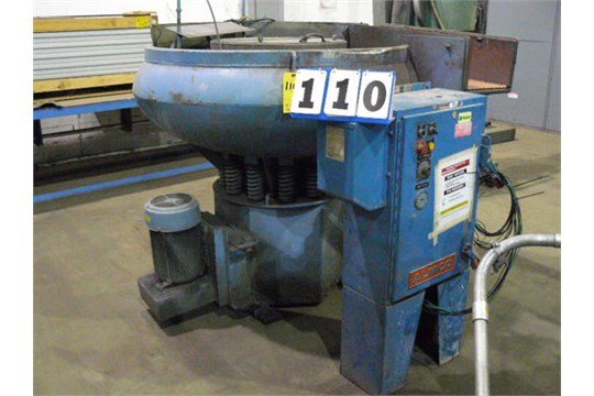 1992 Almco OR-15CD VIBRATORY FINISHER,