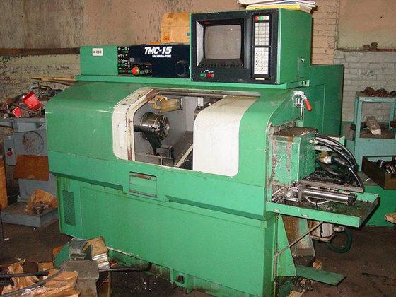 1989 Nakamura-Tome TMC-15 CNC LATHE,