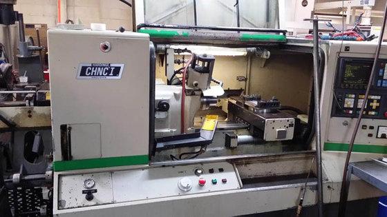 Hardinge CHNC-I CNC LATHE, Fanuc
