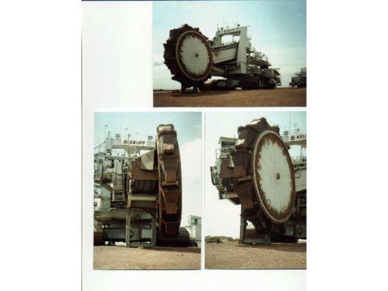 1986 Krupp Bucketwheel Excavator in