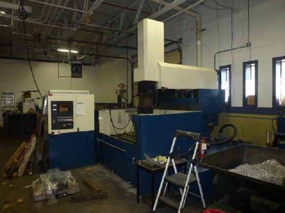 Belmont CNC EDM Machine in