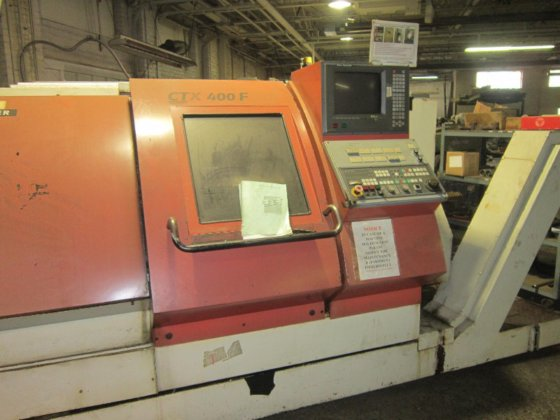 1997 Gildemeister CNC Lathe in