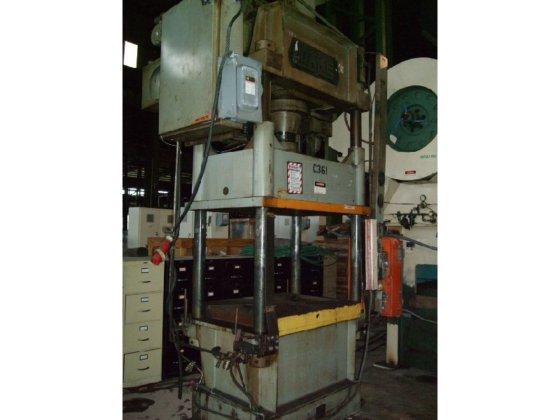1980 Dake 4-Post Hydraulic Press