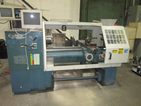 Bridgeport Romi Powerpath CNC Lathe