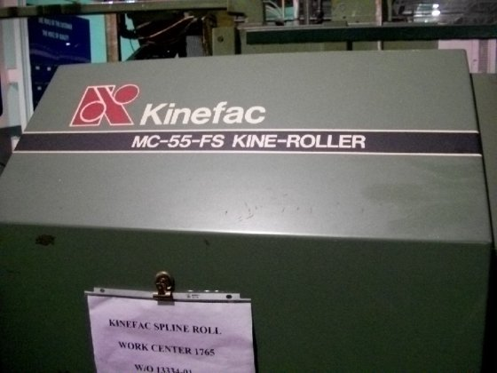 1996 KINEFAC Model MC-55-FS Kine-Roller