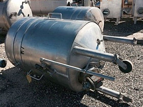 Lee 200g Stainless Steel Jacketed Tank in Mahopac, NY, USA