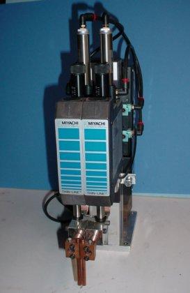 Unitek Miyachi Thinline 88A/EZ air operated series head,2