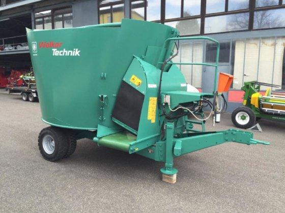 2002 Sieger-Class SC 10 m3 feed mixer in Pragsdorf, Germany