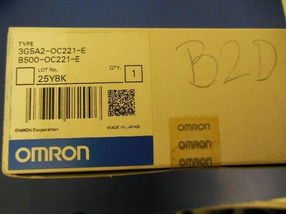 Omron B500-OC221-E EG5A2-OC221-E Output Unit