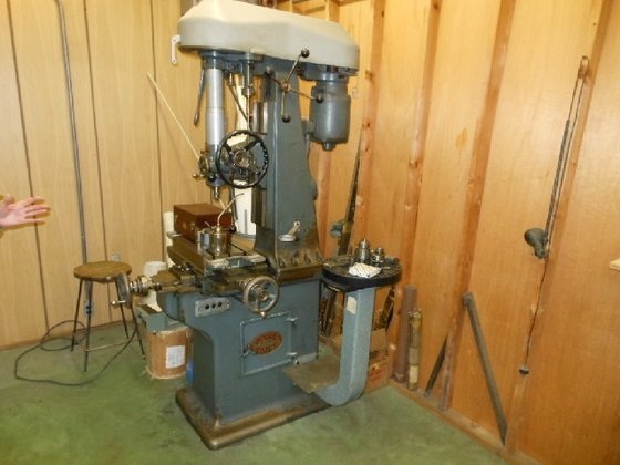 Moore Jig Bore Machine, 16""