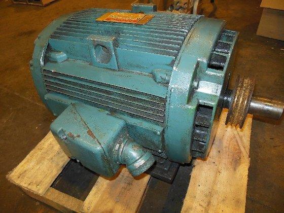 GE 5KY286AL901V AC Motor 15HP,