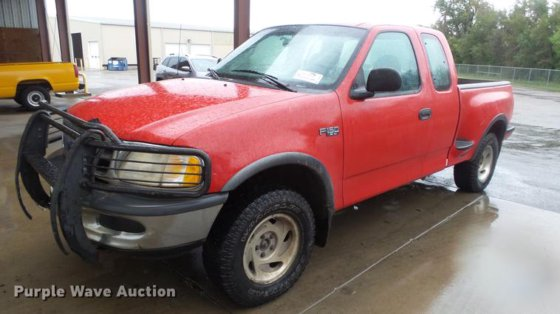 1997 Ford F150 Supercab Pickup Truck In Hutchinson Ks Usa
