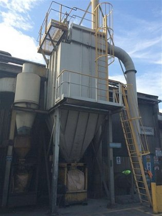 Dust Collector DUCON-MIKROPUL 120F-TR10 in