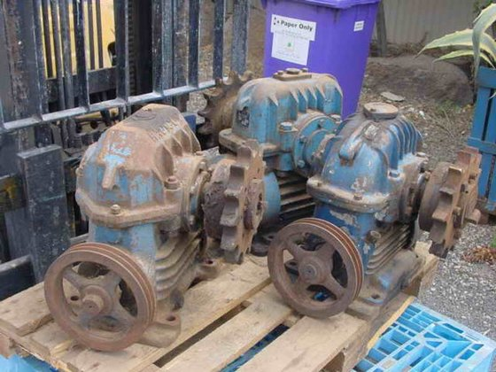 Worm Underdriven Gearbox SONNERDALE SD7
