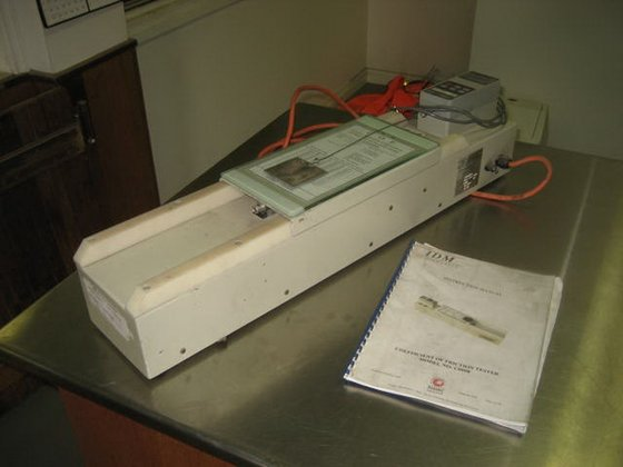 General IDM Coefficient Friction Tester