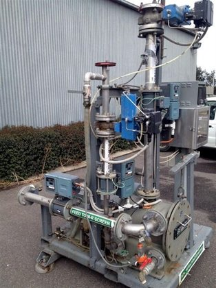 Horizontal Pressure Screen GLV Beloit