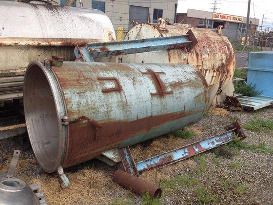 SS Pressure Tank 2000L in