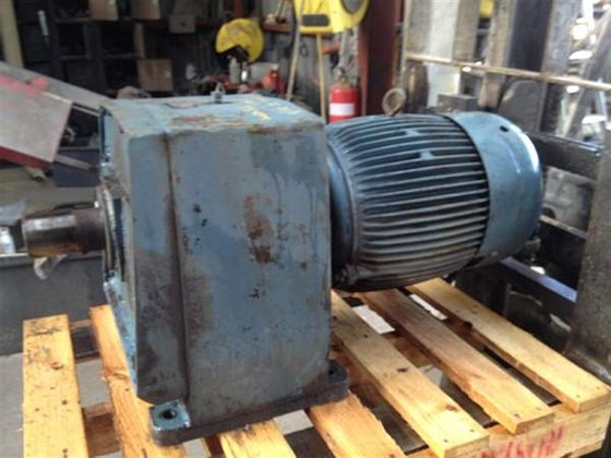 Geared Motor BROOK 15kw 118rpm