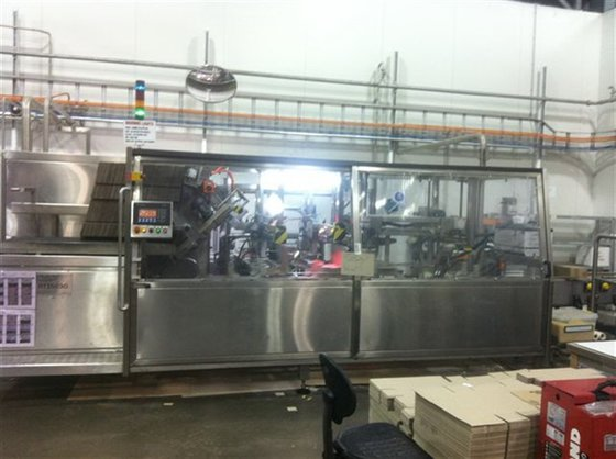 Case packer HMPS RTI5030 in