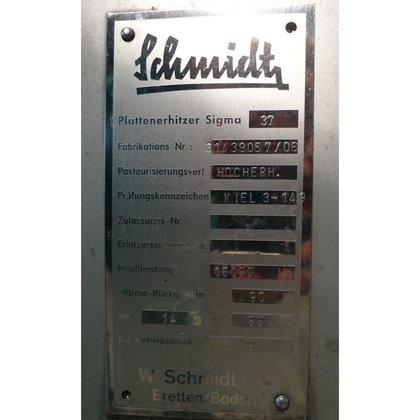 Plattenwärmetauscher SCHMIDT Typ Sigma 37 Getränke und technik #10 ...