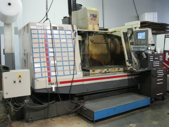 """1996 CINCINNATI """"Sabre 1500"""" CNC"""