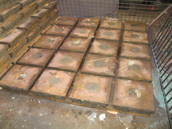 Solid Cast Iron T-Slotted Floor