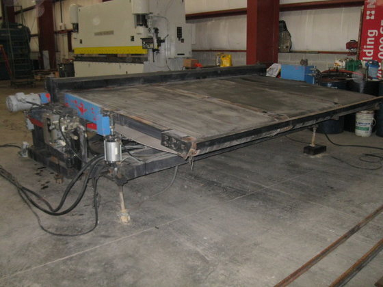 2000 10' AMADA Shear Conveyor/Stacker