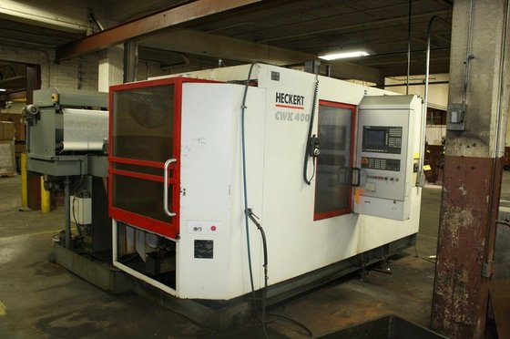 HMC: Heckert CWK400, 4-Axis, Siemens