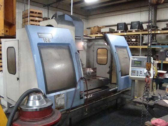 "1994 SHIZOUKA ""MetalMaster"" Vertical Machining"