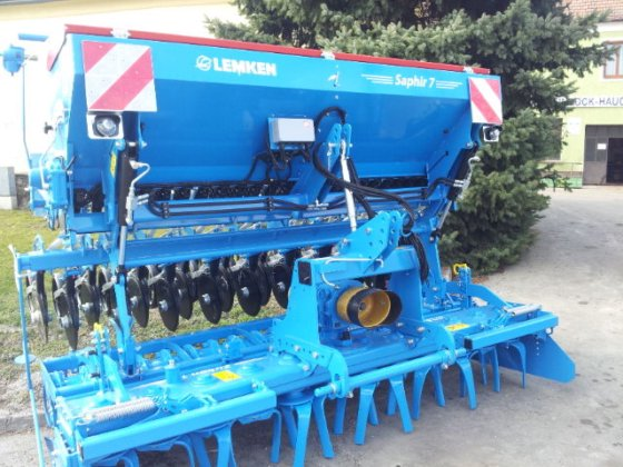 2013 Lemken Zirkon12/Saphir7 in Europe